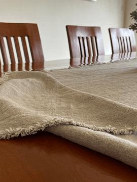 Camino de mesa rustico