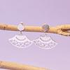 Aros mandala de plata