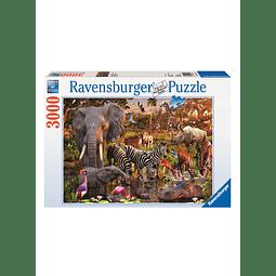 Animales Africanos | Puzzle Ravensburger 3000 Piezas