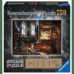 El Laboratorio del Dragón | Escape Puzzle Ravensburger 759 Piezas
