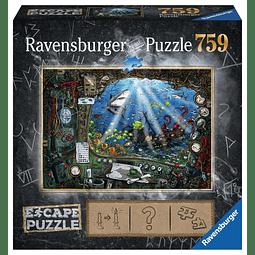 En el Submarino | Escape Puzzle Ravensburger 759 Piezas