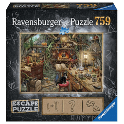 La Cocina de la Bruja | Escape Puzzle Ravensburger 759 Piezas