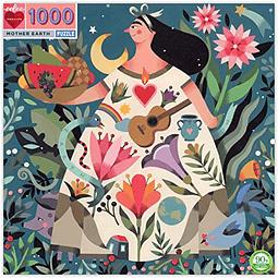 Madre Tierra | Puzzle Eeboo 1000 Piezas