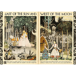East of the Sun, West of the Moon | Puzzle Art & Fable 500 Piezas