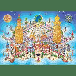Land of Rutopia | Puzzle Art & Fable 1000 Piezas