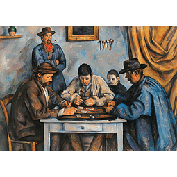 The Card Players | Puzzle Art & Fable 1000 Piezas
