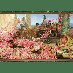 The Roses of Heliogabalus | Puzzle Art & Fable 1000 Piezas