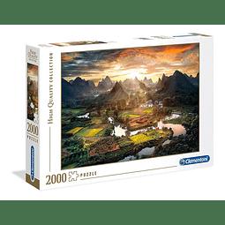 Vista de China | Puzzle Clementoni 2000 Piezas
