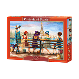Día de las niñas | Puzzle Castorland 1000 Piezas