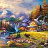 Escondite en la Montaña | Puzzle Castorland 1500 Piezas