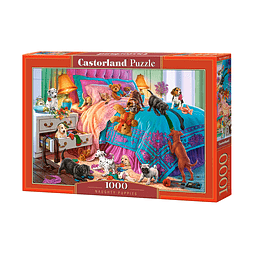 Cachorros Traviesos | Puzzle Castorland 1000 Piezas