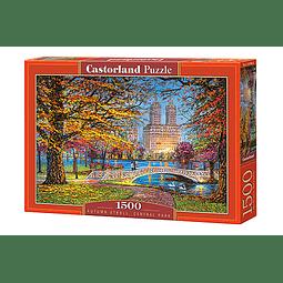 Paseo de Otoño en Central Park | Puzzle Castorland 1500 Piezas