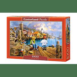 En el muelle | Puzzle Castorland 1000 Piezas