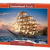 Navegando al Atardecer   Puzzle Castorland 1500 Piezas
