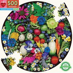 Cosecha Orgánica | Puzzle Eeboo 500 Piezas