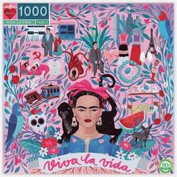Viva la vida | Puzzle Eeboo 1000 Piezas