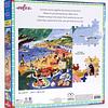 Playa Quitasol | Puzzle Eeboo 1000 Piezas