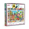 Jardín de Gaviotas   Puzzle Eeboo 1000 Piezas