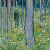 Undergrowth With Two Figures | Puzzle Pomegranate 1000 Piezas
