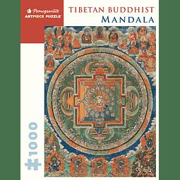 Mandala Tibetan Buddhist   Puzzle Pomegranate 1000 Piezas