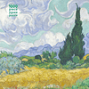Wheatfield with Cypress | Puzzle Flame Tree 1000 Piezas