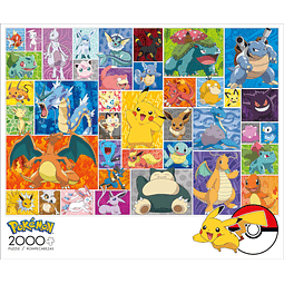 Pokemon Frames | Puzzle Buffalo 2000 Piezas