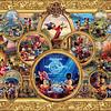 Disney Mickey Mouse Collage   Puzzle Ceaco 1500 Piezas