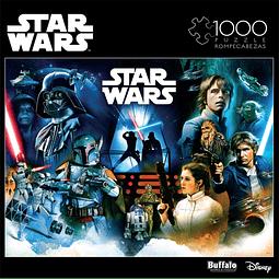 Star Wars Pinball Art | Puzzle Buffalo 1000 Piezas