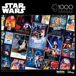 Star Wars Original Trilogy Posters | Puzzle Buffalo 1000 Piezas