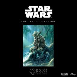 Star Wars Fine Art Collection Yoda | Puzzle Buffalo 1000 Piezas