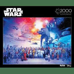 Star Wars You Were the Chosen One | Puzzle Buffalo 2000 Piezas