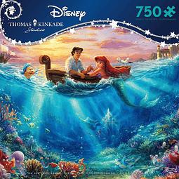 Disney La Sirenita se Enamora   Puzzle Ceaco 750 Piezas