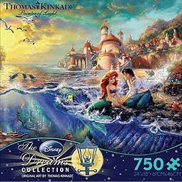 Disney La Sirenita | Puzzle Ceaco 750 Piezas
