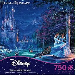 Disney Cenicienta Bailando a la Luz de las Estrellas | Puzzle Ceaco 750 Piezas