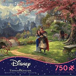 Disney Mulan Florece el Amor | Puzzle Ceaco 750 Piezas