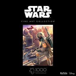 Star Wars Fine Art Collection Boba Fett   Puzzle Buffalo 1000 Piezas