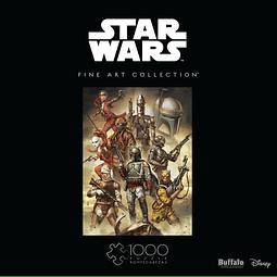 Star Wars Fine Art Collection Scum & Villainy | Puzzle Buffalo 1000 Piezas
