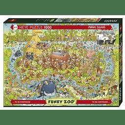 FUNKY ZOO Australian Habitat | Puzzle Heye 1000 Piezas