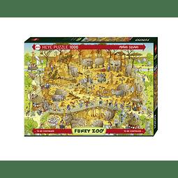 FUNKY ZOO African Habitat | Puzzle Heye 1000 Piezas
