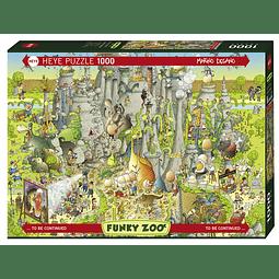 FUNKY ZOO Jurassic Habitat | Puzzle Heye 1000 Piezas