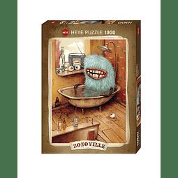 Zozoville Bathtub | Puzzle Heye 1000 Piezas