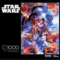 Star Wars Impressive...Most Impressive | Puzzle Buffalo 1000 Piezas