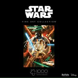 Star Wars Fine Art Collection #1 Comic Variant | Puzzle Buffalo 1000 Piezas