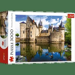 Castle of Sully-sur-Loire, France | Puzzle Trefl 3000 Piezas