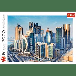 Doga, Qatar | Puzzle Trefl 2000 Piezas