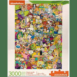 Nickelodeon Cast 90's | Puzzle Aquarius 3000 Piezas