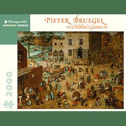 Pieter Bruegel Children's Games | Puzzle Pomegranate 2000 Piezas