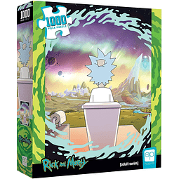 Rick and Morty Shy Popper | TheOP Games 1000 Piezas