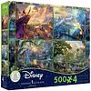 Disney Multipack (B) 4 en 1 | Puzzle Ceaco 4 x 500 Piezas