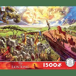 Disney El Rey León | Puzzle Ceaco 1500 Piezas